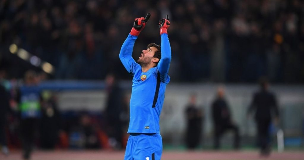 AS Roma Rule Out Alisson Exist