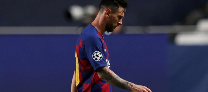 Barcelona confirm Lionel Messi wants to leave