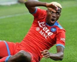 Victor Osimhen spoken up as key Serie A forward by veteran striker
